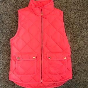 J.Crew neon pink vest